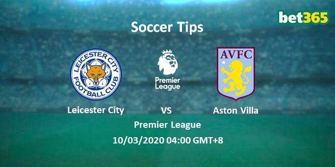 Leicester City vs Aston Villa Prediction & Betting Tips 10 ...